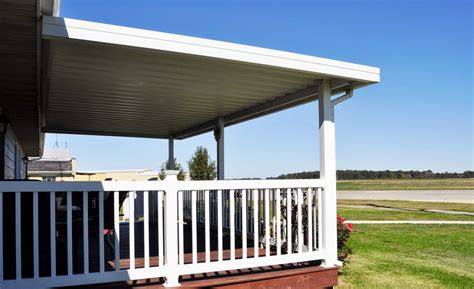 americana awnings attached carport and patio cover kit americana outdoors