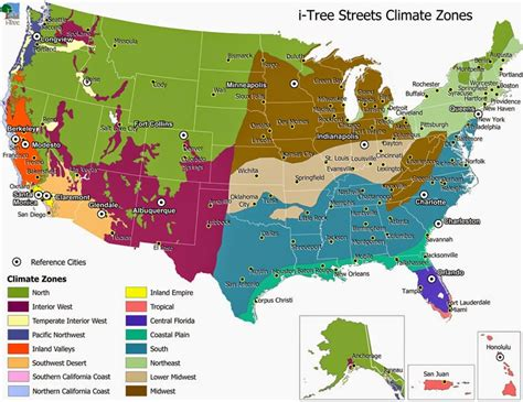 united states climate map climate maps united states and canada free printable maps