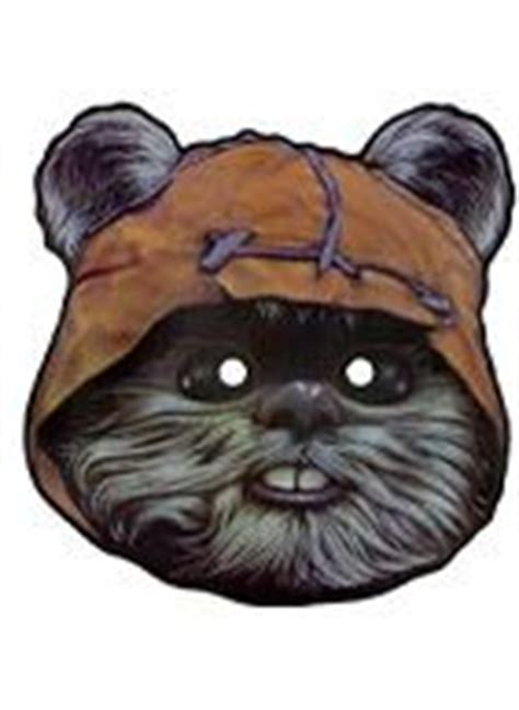 printable ewok mask 1000 images about star wars party on pinterest star