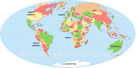 countries map world map with countries free large images