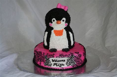 Penguin Baby Shower Decorations by Penguin Baby Shower Cake Baby Ideas