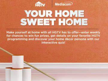 mediacom home sweet home sweepstakes
