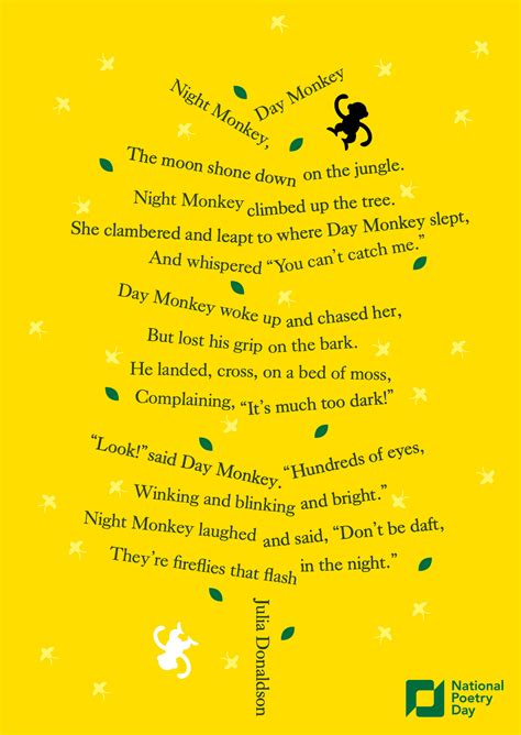 new year monkey poem from monkey day monkey poetry scottish poetry