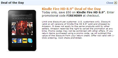 deals alert 10 under items on amazon without prime deal alert get 50 off kindle fire hd 8 9 quot wi fi or lte