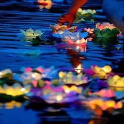 Floating Lotus Flower Candles Free Shipping 150pcs Lot Paper Flower Lotus