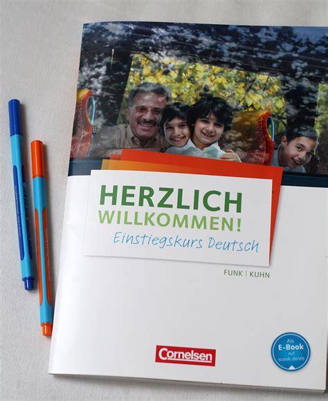 Word Vorlage Herzlich Willkommen Rezension Herzlich Willkommen Einstiegskurs Cornelsen Daf F 252 R Fl 252 Chtlinge