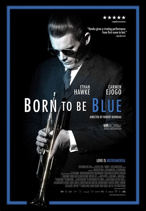 blue poster born to be blue 2016 poster 1 trailer addict