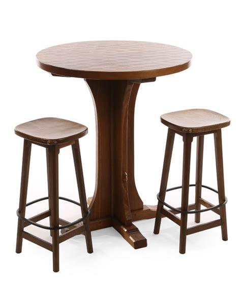 solid oak breakfast bar table ta16 bar table shop