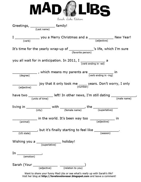 free printable elf mad libs mad libs printable worksheets worksheets for all