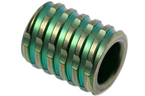 knife titanium paracord bead   green advantageously shopping  knivesandtoolscom
