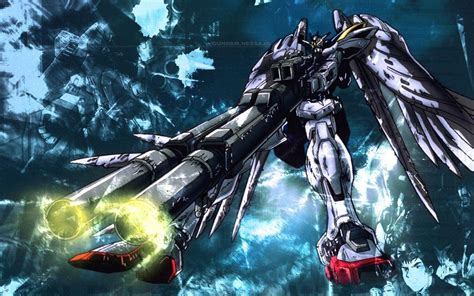 gundam computer wallpaper gundam wing backgrounds wallpaper cave