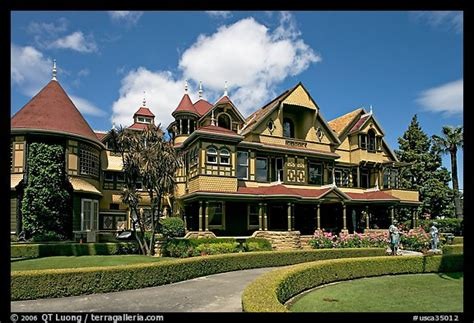 winchester house san jose picture photo gardens and facade morning winchester mystery house san jose
