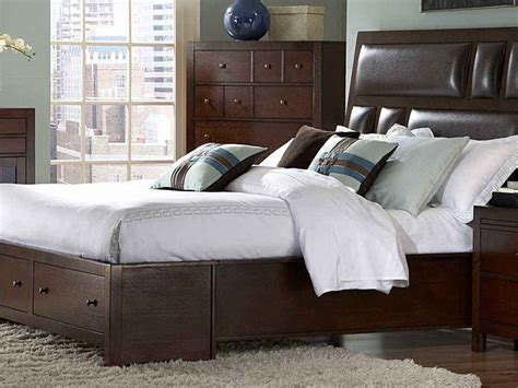King Bed Drawers Underneath by King Bed With Storage Drawers Underneath Home Design Ideas