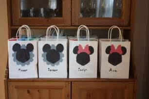mickey mouse favor bags disney drozdowski
