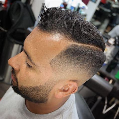 part short hair for black men z przedziałkiem