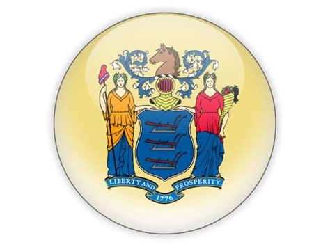 icon design lambertville nj round icon illustration of flag of new jersey