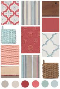 Coral Color Bathroom Decor Decorating Ideas Cottage Color Board Coral Amp Aqua