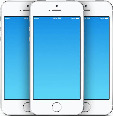 add  iphone  ipad template   screenshots