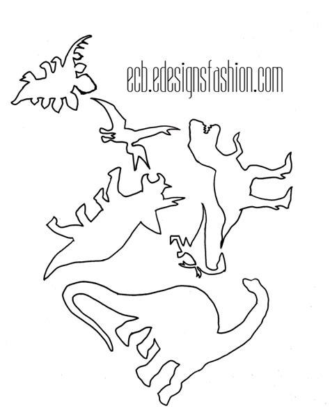 printable dinosaur stencils dinosaur outline template cliparts co