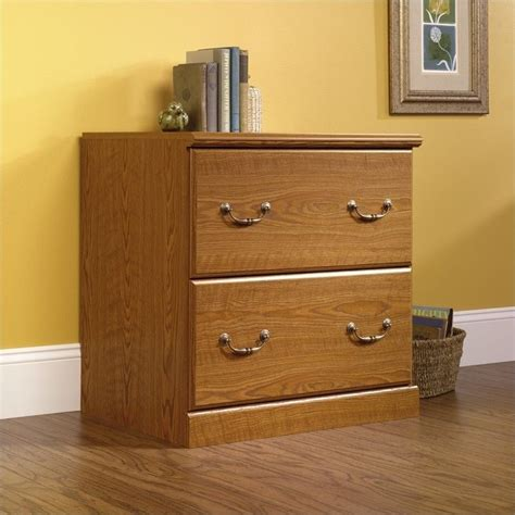 Oak Lateral File Cabinet 2 Drawer Sauder Orchard 2 Drawer Wood Lateral File Carolina Oak Filing Cabinet Ebay