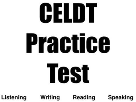Celdt Practice Worksheets by Celdt Practice Test High School By Mrsabac Teachers Pay