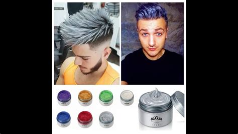 colored wax japanese colored hair wax