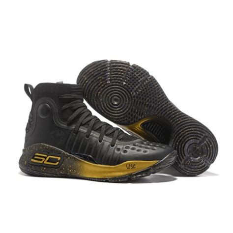 Armour Curry 2 0 Black Gold armour stephen curry 4 black gold