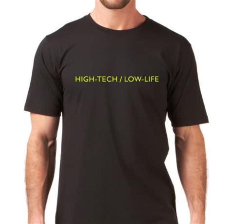 Rpg And Tech T Shirts by Cyberpunk High Tech Low T Shirts Memetic Bot