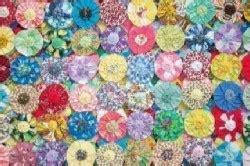 Yo Yo Quilt Patterns Free by Yo Yo Quilt Pattern Quilts And Bedspreads