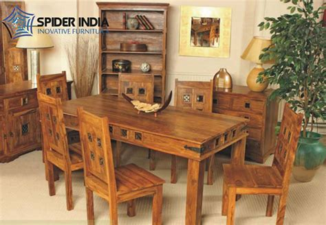 wooden set table wooden dining table set sheesham wood dining table set