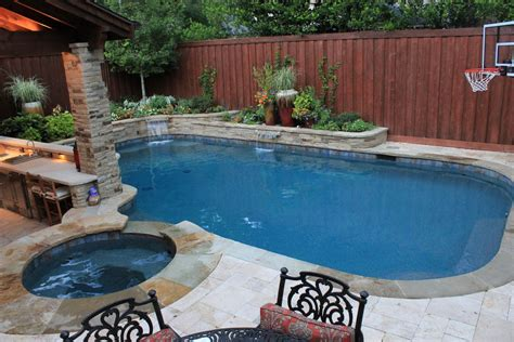 small pool backyard pool design with mesmerizing effect for your home