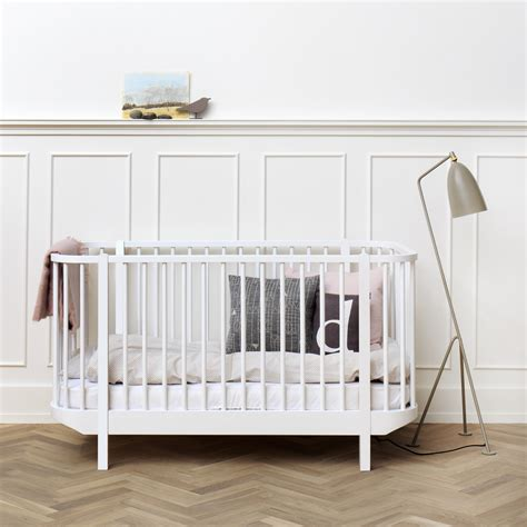 babybett modern oliver furniture babybett wood wei 223 kinderbett