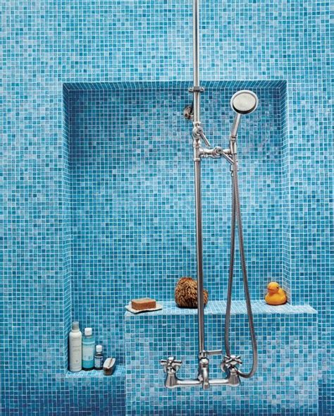 blue tile bathroom 40 blue mosaic bathroom tiles ideas and pictures