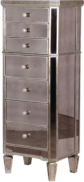 tall slim mirrored dresser slim venetian tallboy chest of drawers mirrored finish