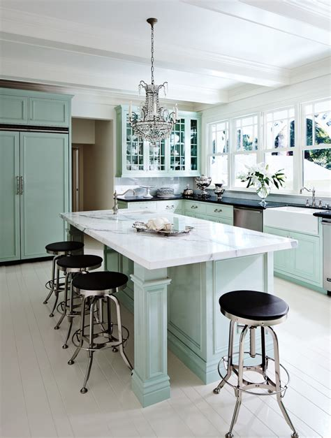 Seafoam Green Kitchen by Seafoam Green Kitchen Contemporary With Breakfast Bar Bar