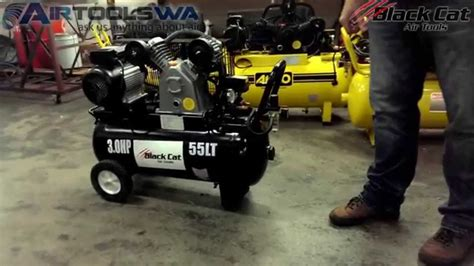black cat bv air compressor youtube