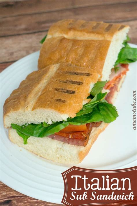 italian sub sandwich recipe copycat lunches and dinners