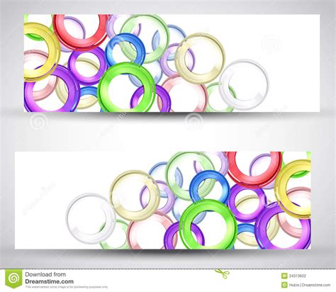 design a header set header card design stock photography image 24313602