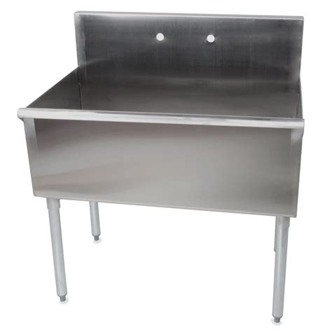 commercial stainless steel sink regency one bowl 36 quot x 21 quot stainless steel commercial