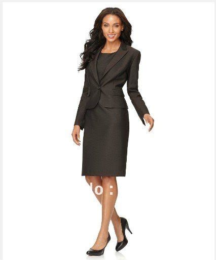 womens suits clothing single button notched collar