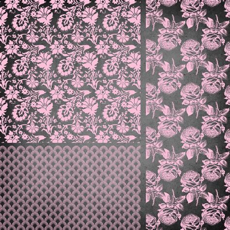 christmas pattern overlay pink pattern overlays