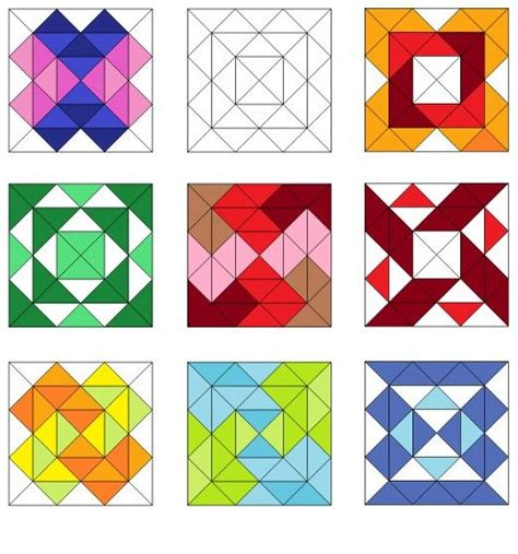 triangle pattern ea easy triangle quilting patterns