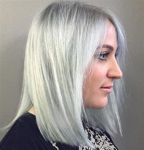 how to blend in gray roots of black hair with highlig blending white roots with blonde dark brown hairs