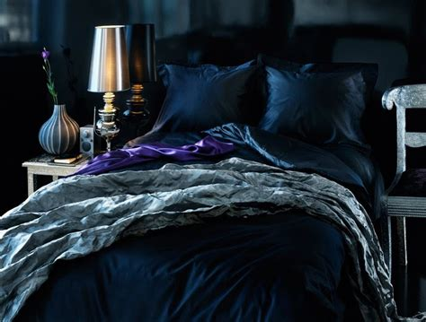 dark romantic bedroom lovely dark blue romantic a very fine house pinterest