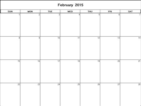 february calendar template 2015 2015 february calendar printable hab immer ga