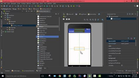 android studio palette tutorial palette window in android studio 26 youtube