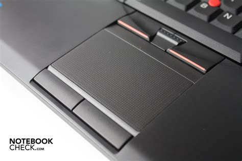 Touchpad Lenovo review lenovo thinkpad sl510 notebook notebookcheck net reviews