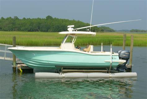 floating boat lift plans ny nc free boat dock design