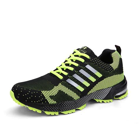 fly wire athletic mens sports shoes running