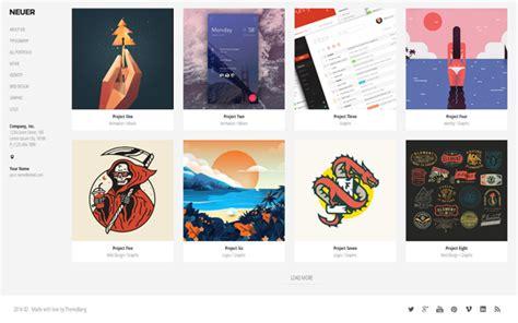 Neuer Creative Portfolio Template Bootstrap Portfolio And Resume Templates Wrapbootstrap Creative Portfolio Template Free